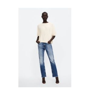 ZARA - RELAXED FIT JEANS Z1975 | 27 (US 4)